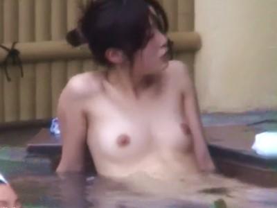 露天風呂+盗撮